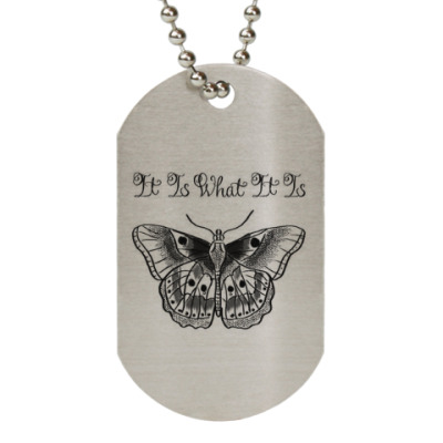 Жетон dog-tag It Is What It Is || Larry Stylinson