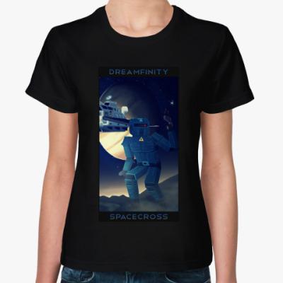 Женская футболка Dreamfinity Spacecross