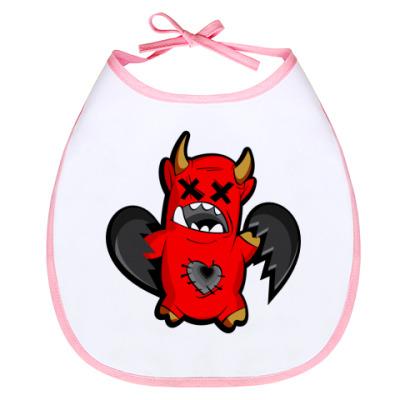 Слюнявчик Дьяволёнок