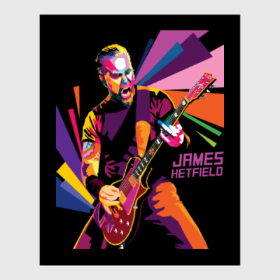 Постер James Hetfield