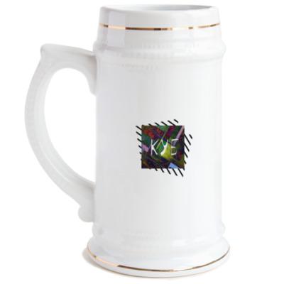 Пивная кружка куб