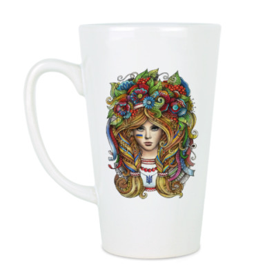 Чашка Латте Украинка