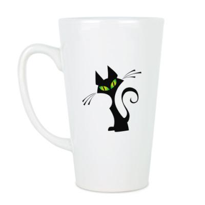 Чашка Латте Кот