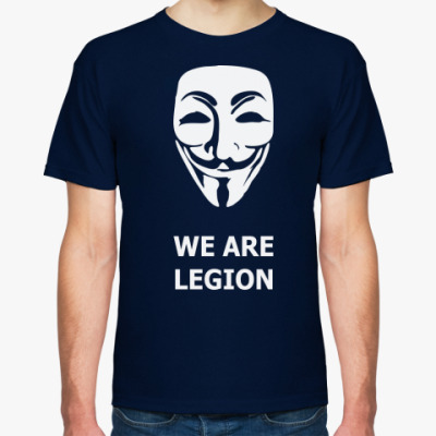 Футболка We are Anonymous - Гай Фокс