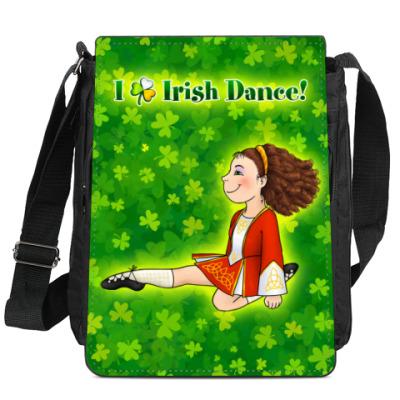 Сумка-планшет Irish dancing girl