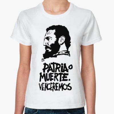 Классическая футболка Venceremos