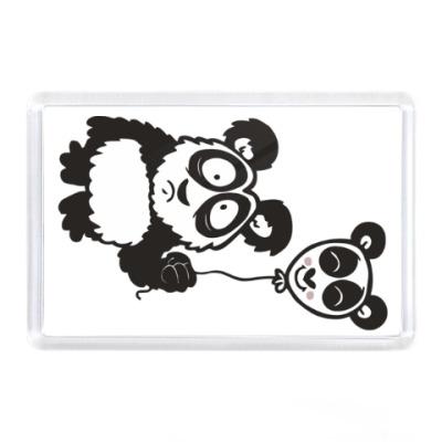 Магнит Панда с шариком