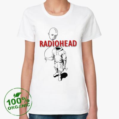 Женская футболка из органик-хлопка Radiohead