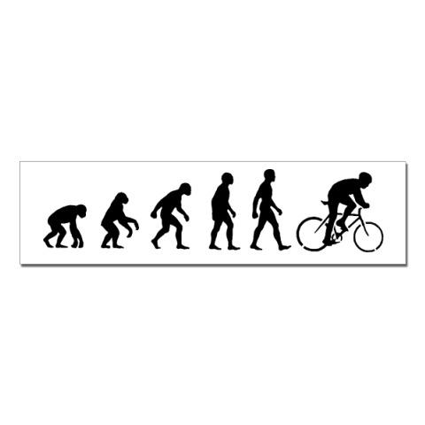 наклейки эволюция