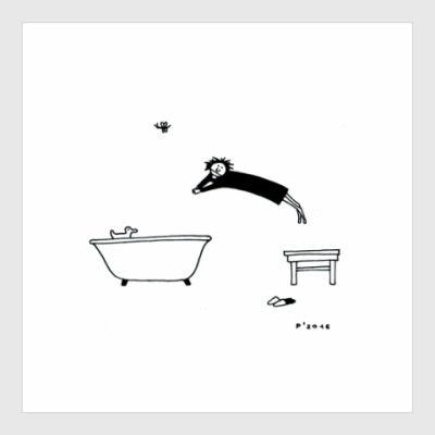 Постер Morning bath