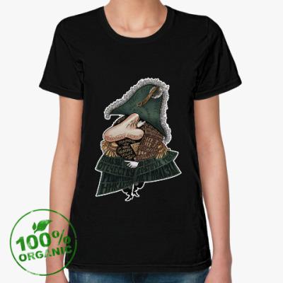 Женская футболка из органик-хлопка Цензор