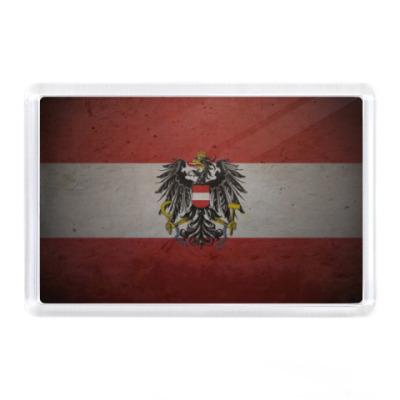 Магнит Австрия, флаг