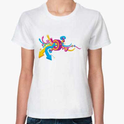 Классическая футболка  футболка Кольцо
