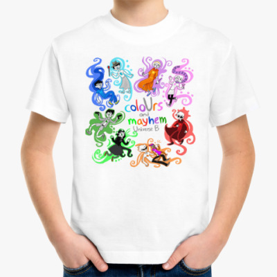 Детская футболка Homestuck (Застрявшие дома)