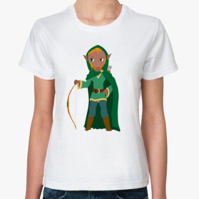 Классическая футболка Зета