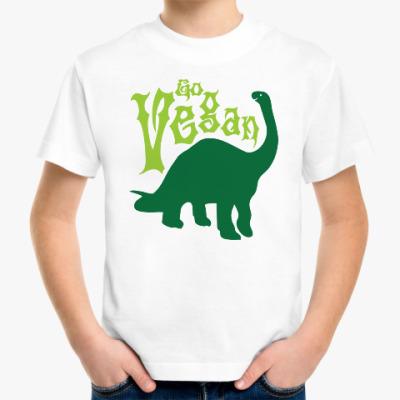 Детская футболка Go Vegan