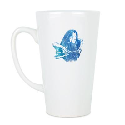 Чашка Латте Dota 2: Crystal Maiden