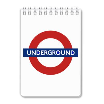 Блокнот Underground