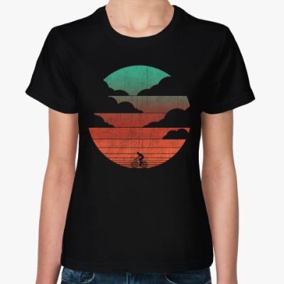 Женская футболка На закате
