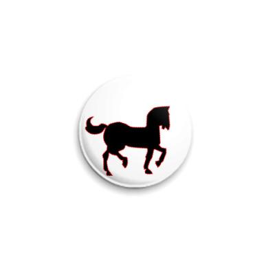 Значок 25мм  RF Конь