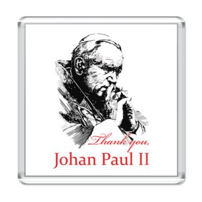 Магнит Папа Иоанн Павел II