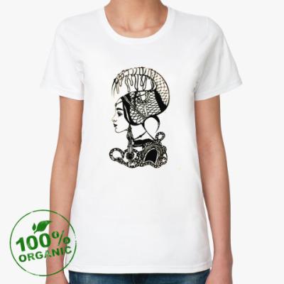 Женская футболка из органик-хлопка Stranger