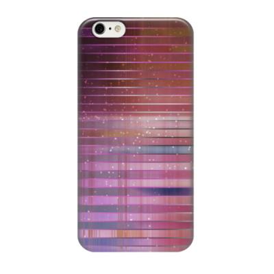 Чехол для iPhone 6/6s Космос в полоску