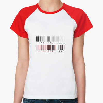 Женская футболка реглан   Same...