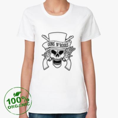 Женская футболка из органик-хлопка Guns N' Roses