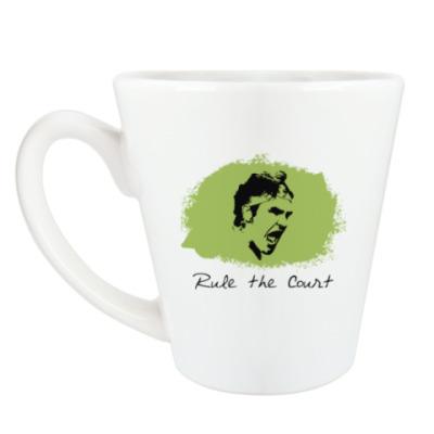 Чашка Латте Федерер - Управляй кортом