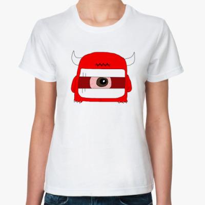 Классическая футболка Чёрт