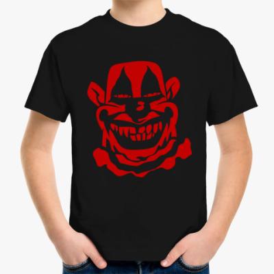Детская футболка Злой клоун