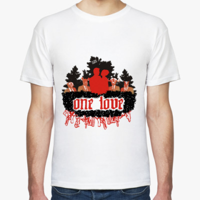 Футболка one love