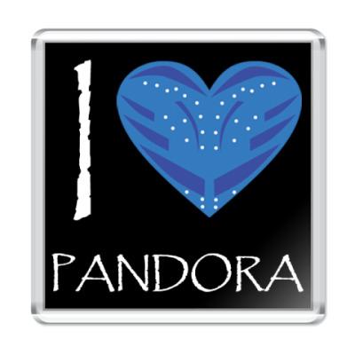 Магнит I love Pandora