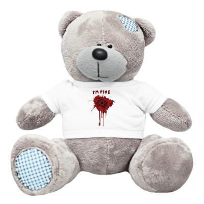 Плюшевый мишка Тедди I'm fine