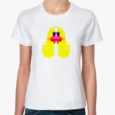 Классическая футболка Утиный тест Роршаха