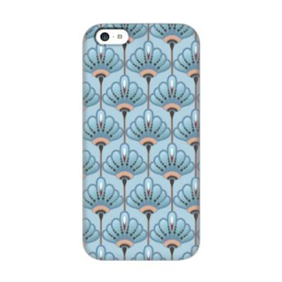 Чехол для iPhone 5c Красивые цветы