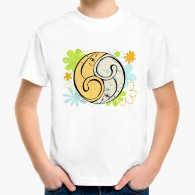 Детская футболка Коты 69-дыня и мята