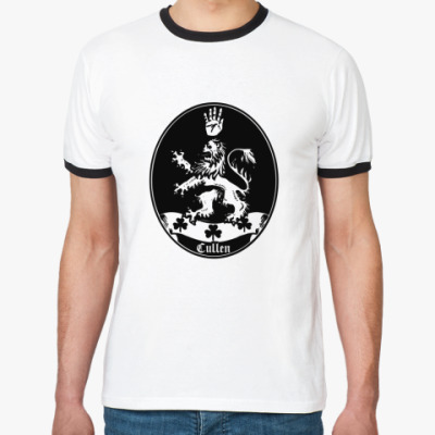 Футболка Ringer-T Cullen emblem