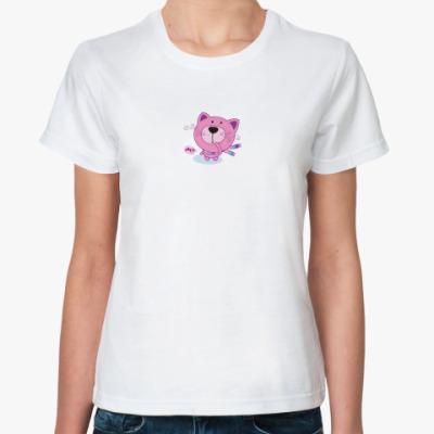 Классическая футболка Котик M?