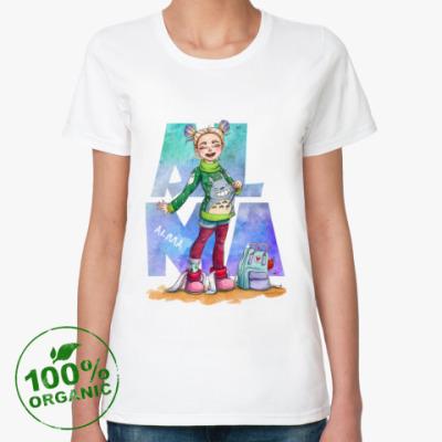Женская футболка из органик-хлопка Alma