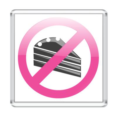 Магнит  Не ешь сладкое!