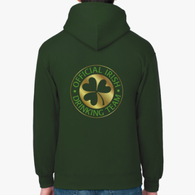 Толстовка худи 'Irish drinking'