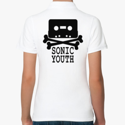 Женская рубашка поло Sonic Youth