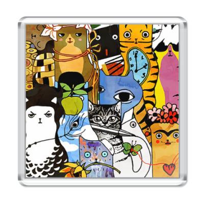 Магнит Art Cats
