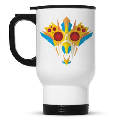 Кружка-термос Ритуальная маска воина