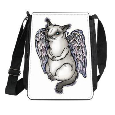 Сумка-планшет Самодостаточный кот