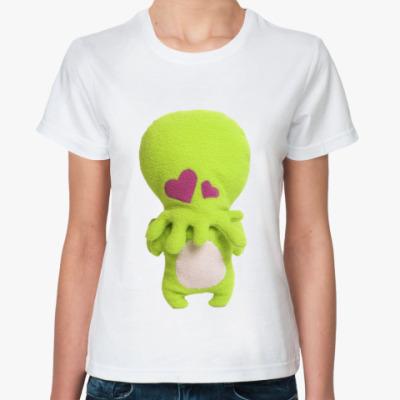Классическая футболка  Ктулху