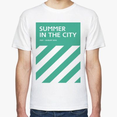 Футболка Мужская футболка Summer in the City
