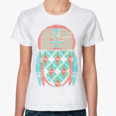 Классическая футболка Cute Owl